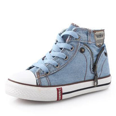 Breathable Denim Design Casual Shoes