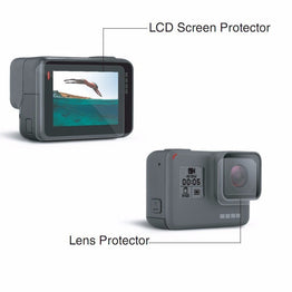 Gopro Hero 5 Black Screen Protector Cover Lens Protective Film for