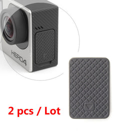 2pcs/lot USB Side Door Protective Cover Replacement  Go Pro Hero 4 3+ 3 Hero3 Hero4