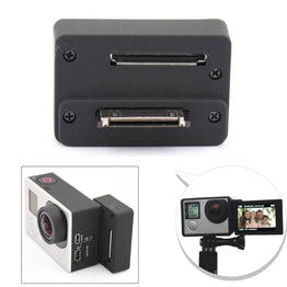 GoPro BacPac Screen connector Adapter For GoPro Hero 4 Hero 3+ 3