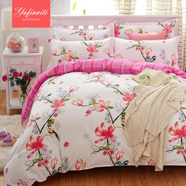 17 color (4Pcs) High Quality 100% polyester Yafinniti Bedding Sets