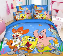 Spongebob Printed bedding sets for Children's bedroom