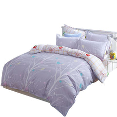 Svetanya print Bedlinen 3/4pcs soft polyester Bedding sets in Twin/Double/Queen size