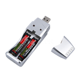 USB Battery Charger Rechargeable NiMH Battery AA AAA High Capacity