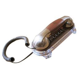 Wall Mounted Telephone Corded Phone Landline Antique Retro