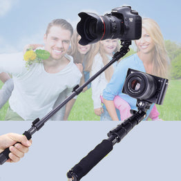 Extendable Handheld Selfie Stick Self Timer For Canon Sony Nikon DSLR Digital Camera