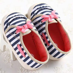 Newborn Anti-slip Baby Girl Bow Shoes