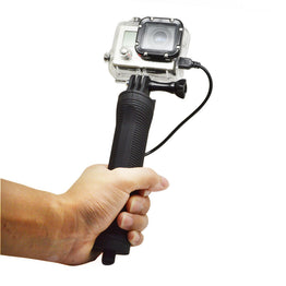 Handheld Monopod Selfie Stick and Power Bank in One Gopro Hero 3300mAh