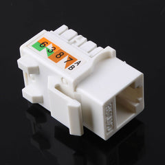 110 Punch Down Keystone Jack RJ45 CAT5 Network 2pcs