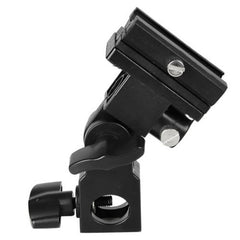 B Type Flash Hot Shoe Mount Adapter Trigger Umbrella Holder Swivel Light Stand Bracket