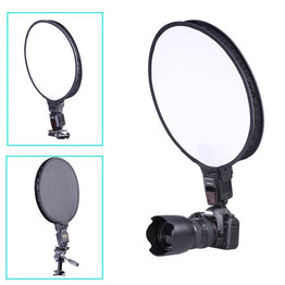 "Universal Portable Round  30cm 11.8"" Softbox Studio Shooting White-balance"