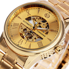 WINNER Luxury Men Women Watches Automatic Mechanical Lover's