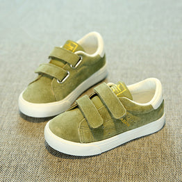 Stylish Pig Leather Casual Sneakers for Kids