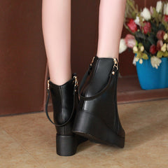Warm Plush Fashion Elegant Ankle Women Boots