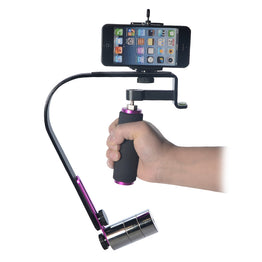 Mcoplus Handheld Video Steadycam Stabilizer System For Mobile Phones and Go Pro