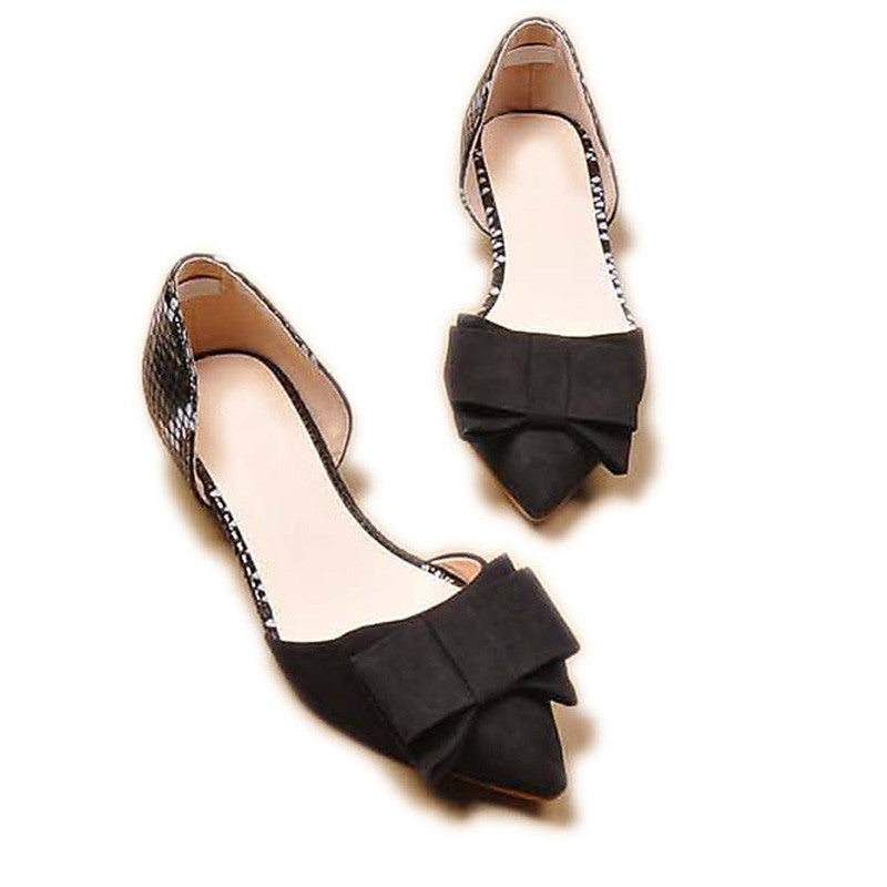 Spring Summer Bowtie Flats Women's Flat Shoes