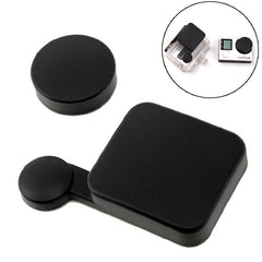 Waterproof Lens Cap Cover Housing Case Cover Replacment Kit Set