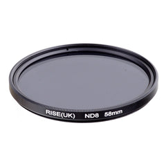 58 mm Neutral Density ND8 Filter FOR ALL Camera lens