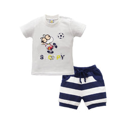 Summer Leisure Beach Clothing Outfit for Boys