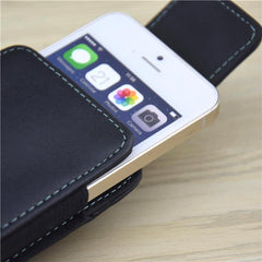 Belt Clip Holster Flip Leather Case Cover For Samsung Huawei