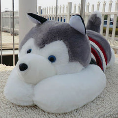 Cute Stuffed Husky Plush Toy