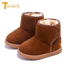 Plush Baby Boots