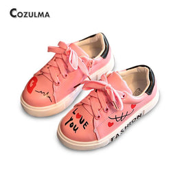 Girls / Boys Casual Letters & Lace-Up Sneakers Shoes for Spring