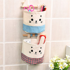 Storage Bag one piece Hanging Bathroom Kitchen Supplies Debris Space Bag