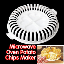 DIY Microwave Safe Potato Chips Maker