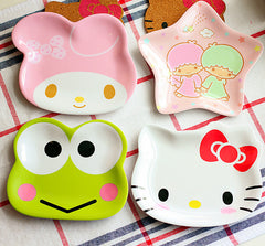 Kawaii Cartoon Seasoning Sauce / Snack Dish Tableware