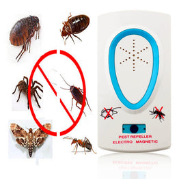 Electrical EU Plug Ultrasonic Pest Repeller for Mouse / Rat / Bug / Mosquito
