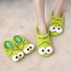 Cartoon Design Soft Home Slippers for Kids