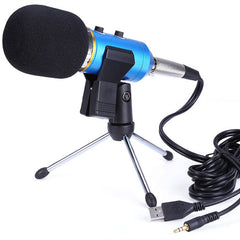 MK-F200fL professional sound wired microphone Audio Recording USB Condenser