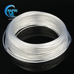 High purity silver plated OCC teflon wire 1 meters 5meters 10meters 0.75mm2