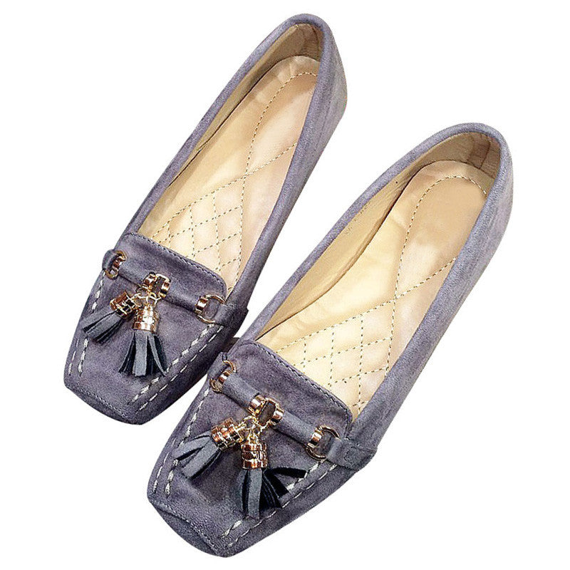 Stylish Women's Flats Elegant Loafers Soft Sole Shoes