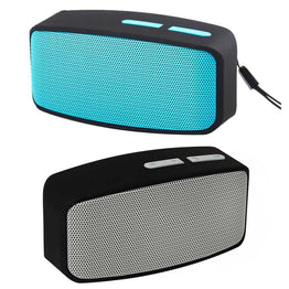 Wireless Portable 3.5m AUX Plug 2.1+EDR Bluetooth Stereo FM Speaker