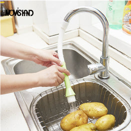 Faucet Filter Vegetable Water-saving Cleaning Brush for Kitchen Tap