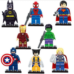 Avengers Marvel DC Building Blocks