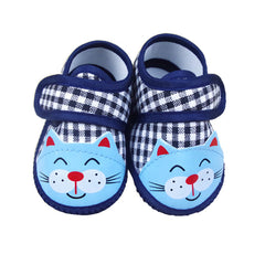 Anti Slip Cartoon Design Soft Bottom First Walker Spring Fashion Shoes