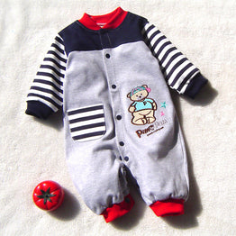 Long Sleeves Baby Rompers Jumpsuit Clothing for Boys