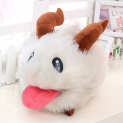 Cute Plush Poro Doll for Kids
