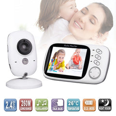 3.2'' LCD Wireless Night Vision  Baby Monitor Security Cameras Receiver