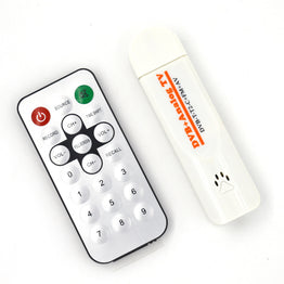 Digital Satellite DVB T2 USB TV Stick Tuner for DVB-T2/T/C/FM/Analog with Antenna Remote control