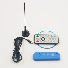 USB 2.0 Digital DVB-T SDR+DAB+FM HDTV TV Tuner Receiver Stick