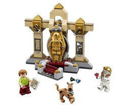 Scooby Doo Mummy Museum Building Blocks Compatible With Lego