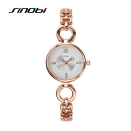 Elegant Luxury Fashion Charm Quartz Bracelet Watch