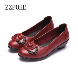 Fashionable Soft Soles Comfortable Flat Bottomed Shoes
