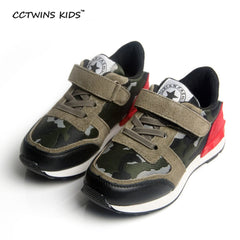 CCTWINS Unisex Spring Autumn Genuine Leather Trainer Shoes