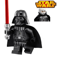 Star Wars Darth Vader With Red Lightsaber Building Blocks Sets