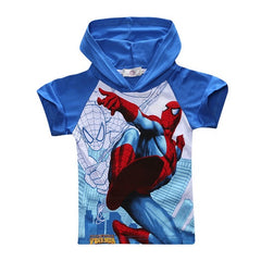 Spiderman Design T-shirts  with Hood